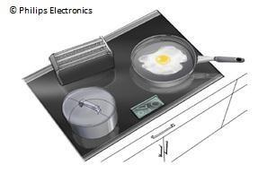 Wireless Kitchen Appliances Inductive power source