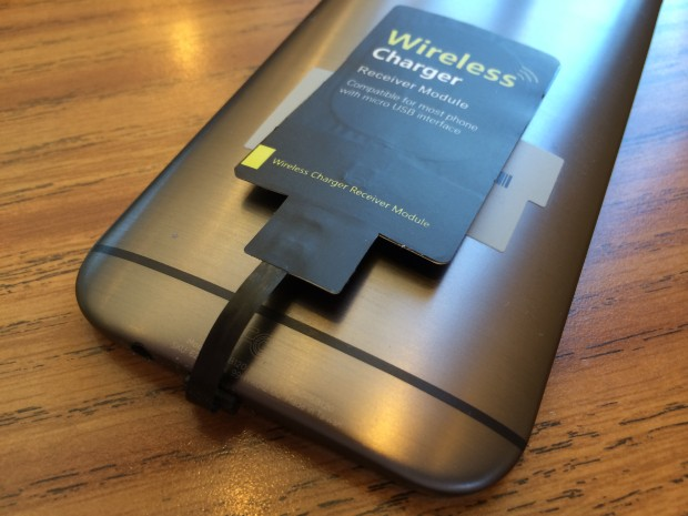 HTC One M8 wireless charging