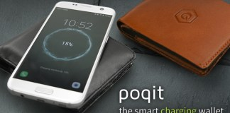 Poqit Smart Charging wallet
