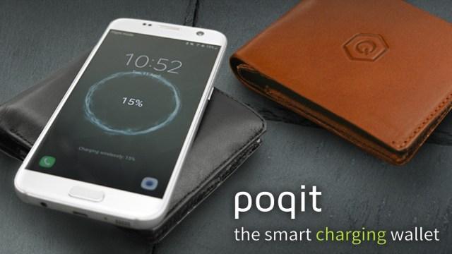 Poqit Smart Charging wallet