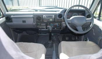 2003 Toyota Landcruiser 4X4 Motorhome full