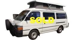 1993 Toyota Hiace Poptop Camper