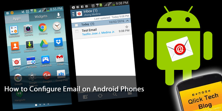 How to Configure Email on Android Phones or Tablets