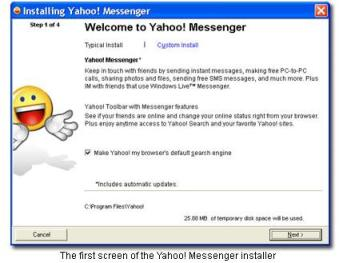 Yahoo Messenger 9.0 Installer