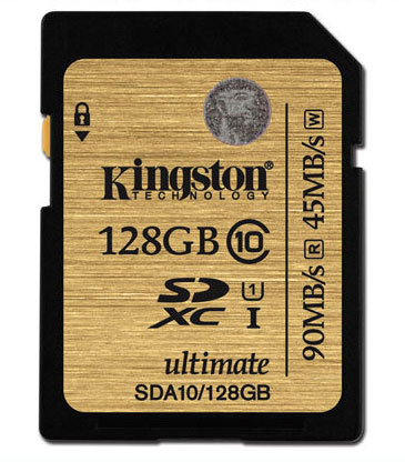 Kingston 128GB Class10 UHS-I Professional SD Card