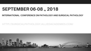 Surgical pathology conference scotland