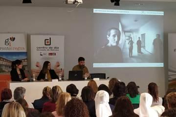 jornada gerontorioja personas mayores Sara de la Peña, Marijo Moreno y Alex Micheleta