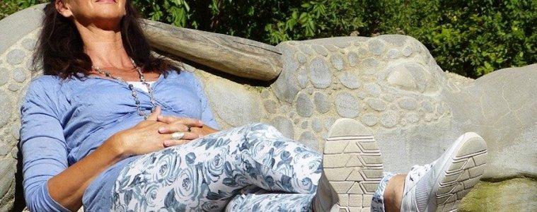 menopausia mujer descansando