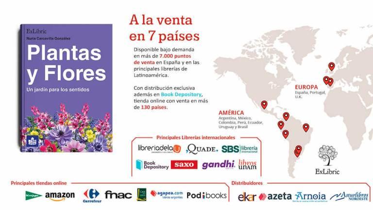libro Plantas y flores - mapa