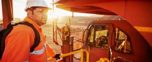 Natural Resources Plan mine worker dump truck