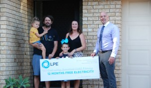 free electricity for a year