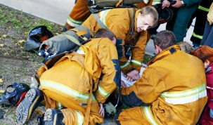 Emergency workers at work fatality Adobe Stock Images