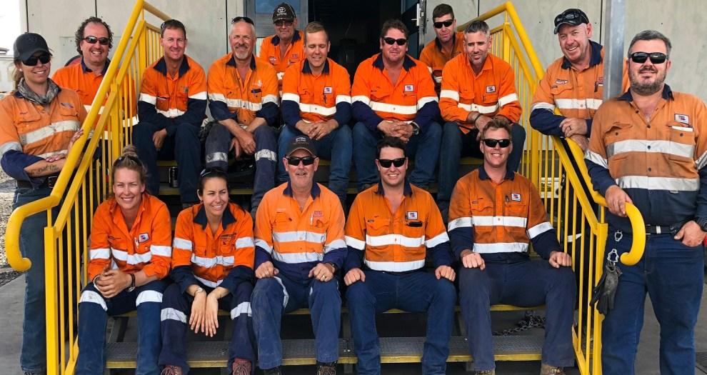 BHP workers