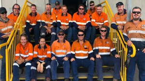BHP workers