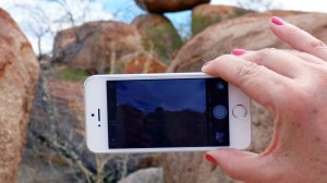 Free wifi at Devil's Marbles