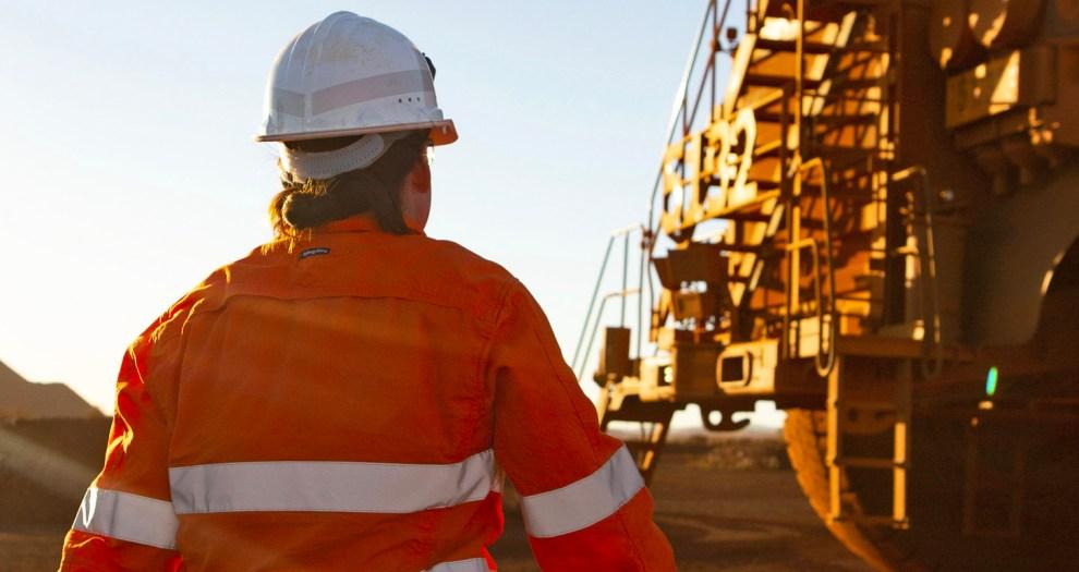 BHP mine worker