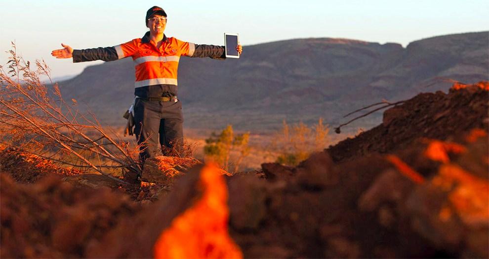 BHP iron ore
