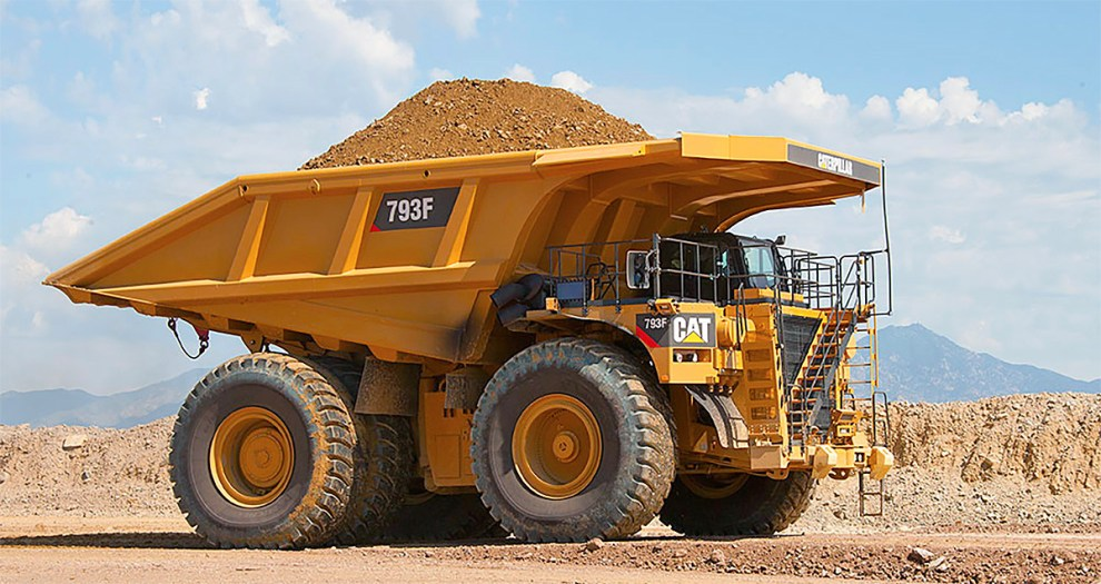 CAT 793 off-highway truck