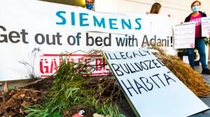 Galilee Blockade Siemens protest