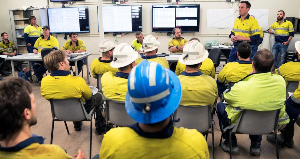 Northern Star Resources workers