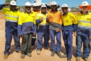 Metro Mining workers