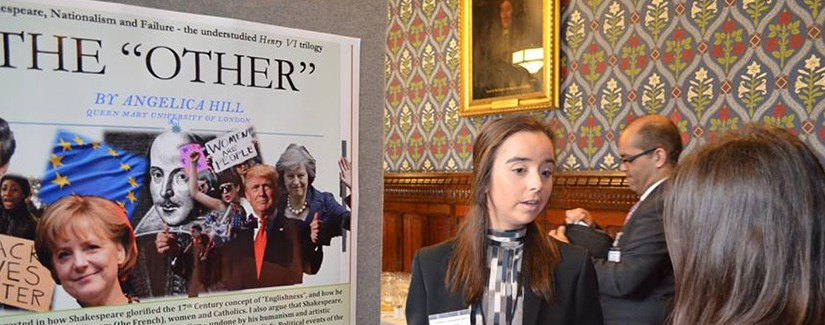 Posters in Parliament 2017 by Angelica Hill