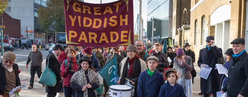 Photo Special: The Great Yiddish Parade – Part of Being Human Festival
