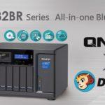 QNAP、TVS-882BR Blu-ray NASシリーズおよび、包括的なディスクベースのファイルバックアップソリューションを提供するために Fengtao Software (DVDFab) との連係を発表