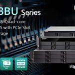 QNAP、拡張可能PCIe M.2 SSDおよび10GbE接続を搭載したクアッドコアラックマウントTS-x53BUシリーズNASを発表