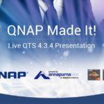 QNAP QTS 4.3.4 OSスニークプレビュー:ARMベースのNASでサポートされるスナップショット、およびTS-x77 Ryzen NASの詳細