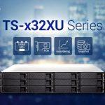 QNAPは、多用途のSMBエントリーラックマウントNASシリーズ TS-x32XUを刷新し、高いコスト効率はそのままに性能と機能性をさらに高めました。
