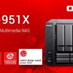 QNAP、9ベイNASラインアップを完備:第7世代Intel®プロセッサ搭載のマルチメディアNAS、受賞したてのTVS-951X 10GBASE-Tを発表