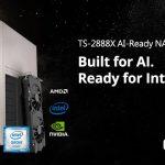 QNAP 機械学習向けのTS-2888X AI対応NASを正式発表