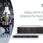 QNAP、デュアルコントローラーWindows/LinuxサーバーとエンタープライズZFS NAS用のQDA-SA2 6Gbps SATA to SASドライブアダプターを発表。
