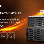 QNAPはTS-hx77XU NASシリーズに、ZFS、8コア AMD Ryzen™ 7 3.6 GHz、2ポート10GbE、PCIe拡張対応の16および24ベイ大容量モデルを追加