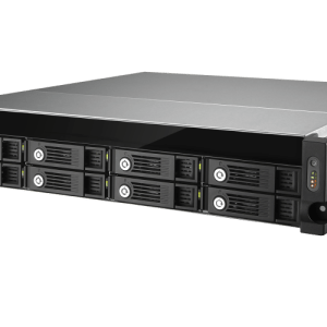 QNAP UX-800U-RP 8-Bay, 2U Rack-mountable (rails included) Expansion Unit