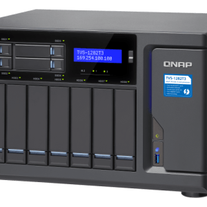 QNAP TVS-1282T3-i5-16G 12-Bay Tower NAS with 3.40 GHz Intel Core i5 CPU and 16GB RAM