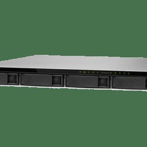 QNAP TS-983XU-E2124-8G 9-Bay, 1U Rack-mountable (rails included) NAS with 3.30 GHz Intel Xeon E CPU and 8GB RAM