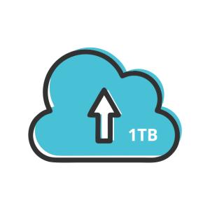 Cloud Backup 1TB to 10TB