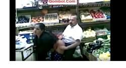 کلیپ سکس تو مغازه میوه فروشی