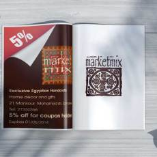 Market Mix Magazine coupon