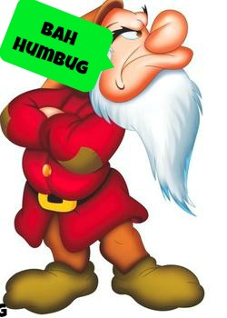 Bah Humbug Forget Christmas Crafting Watch TV Qpon Junkie