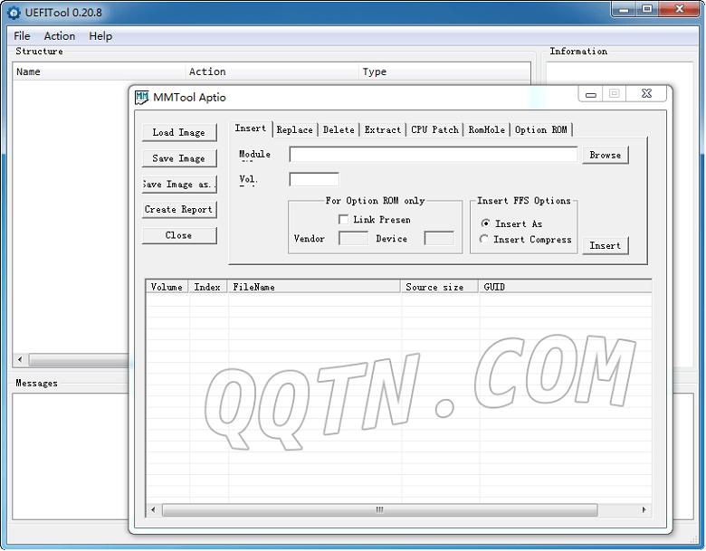 UEFI主板升级工具-UEFIToolv0.20 绿色版