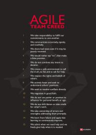 Agile Team Creed