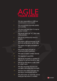 Agile Team Creed