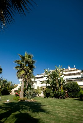 Multiple millions of luxury. These shot of a rather large duplex next to Coral Beach in Marbella's New Golden Mile