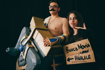Cosplayer busca novia