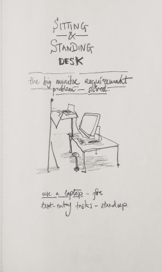 Dynamic Desk Standing, Sitting