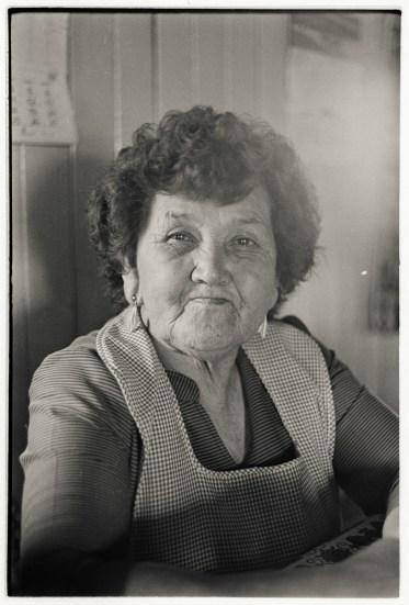 Landlady, Manao, Chiloé,1988.