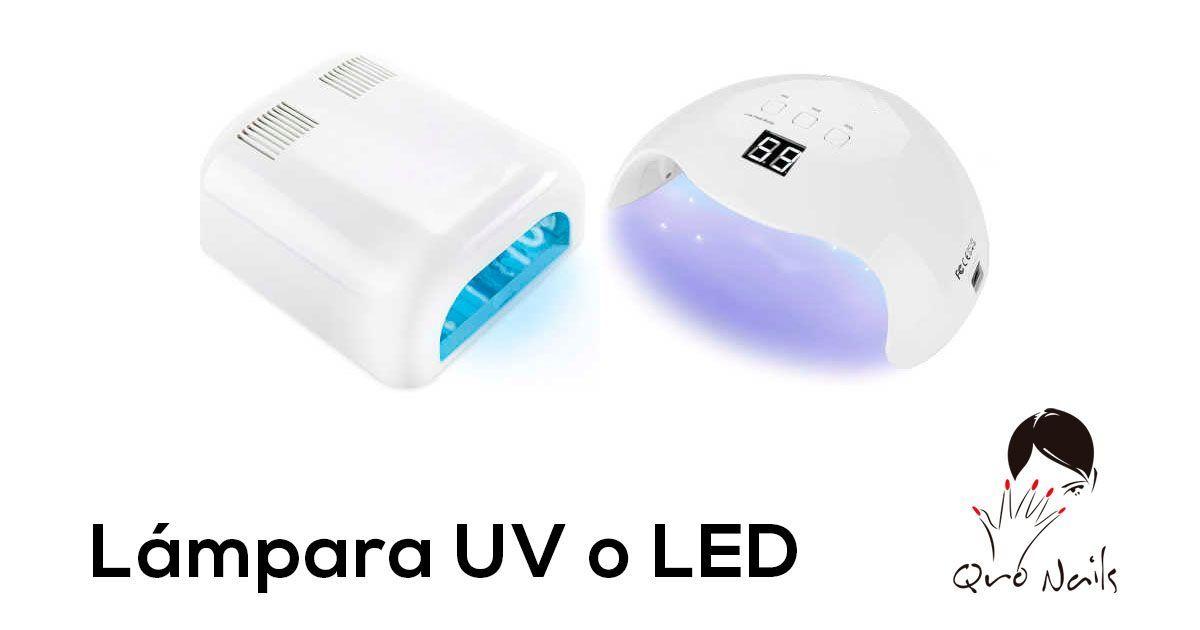 Lamparas LED UV